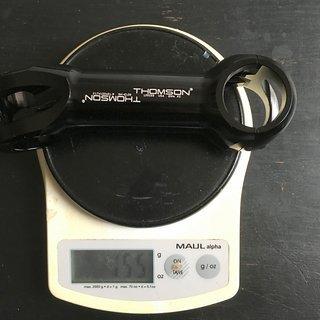 Gewicht Thomson Vorbau Elite X2 17° 120mm 31,8mm