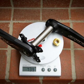 Gewicht Shimano Kurbel Saint FC-M825 165mm, 83mm, HTII