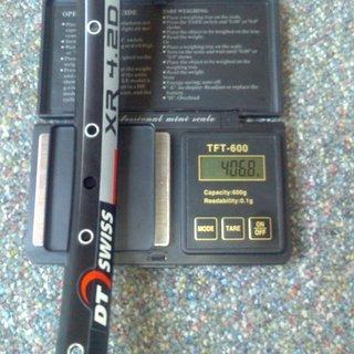 """Gewicht DT Swiss Felge XR 4.2d 26"""" / 32 Loch"""