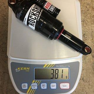 Gewicht Rock Shox Dämpfer Monarch Plus RC3 Debonair 200x57mm