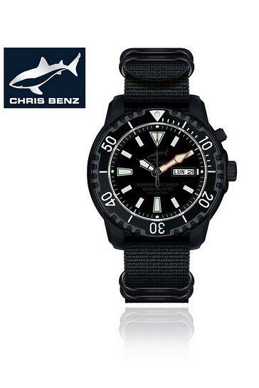 Chris Benz Commando Driver-Uhr