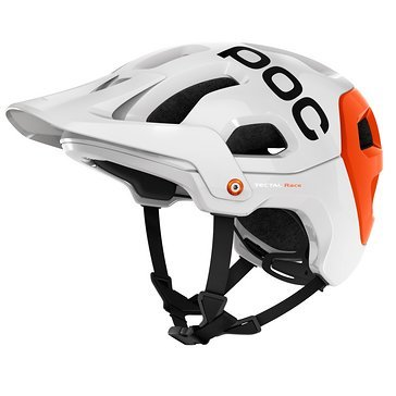 POC Tectal Race Hydrogen White-Iron Orange