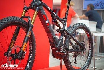 ...und 500 Ah Akku treiben das Bike an.