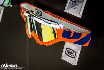 Orange, blau und weiß - 100% bietet für so ziemlich jeden Style eine passende Brille an.