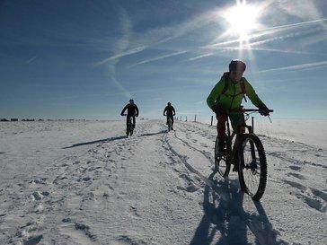 Im Schnee ist eine Form selten zu finden, auch wenn es spaßig ist.