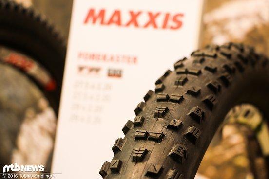 Der Forekaster für Racer und All Mountain-Piloten. Den Reifen wird es für 27,5 und 29 Zoll geben.