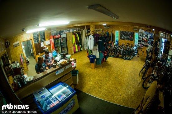 Bikeshop im Singltrek Centrum