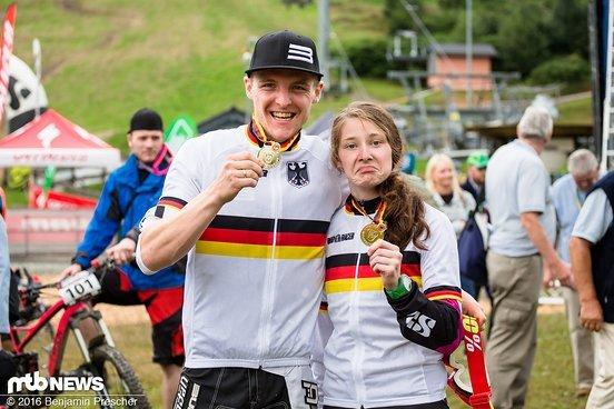 Die neuen Deutschen Meister im Enduro