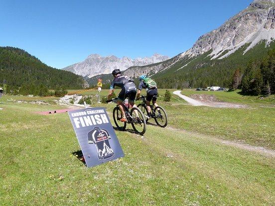 Nix Finish, nach der Enduro-Challenge folgen nochmal 40 km mit 1300 hm.