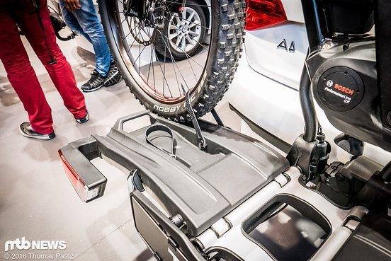 Die Bänder sollen vom Kinderrad bis zum Bike mit langem Radstand alles fixieren