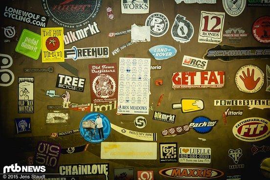 Stickerwall