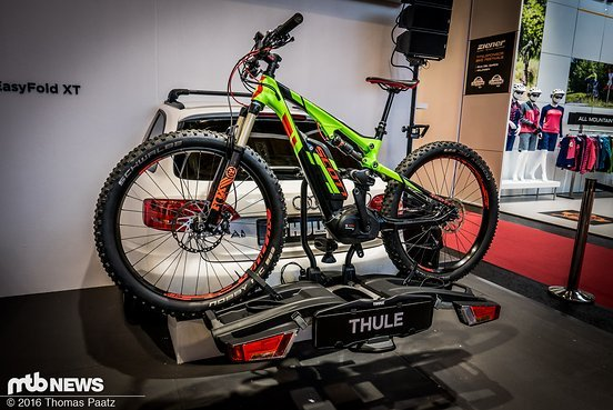Hier mit einem E-Bike mit Plus-Reifen