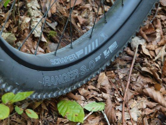 WTB Scraper i45 Felgen mit WTP Ranger Reifen in 3,0er Breite