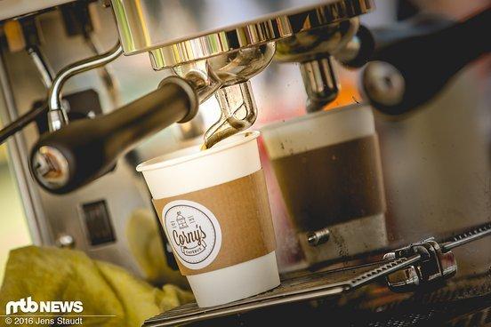 Leckere Koffeinspritze gabs frisch vom Erzeuger