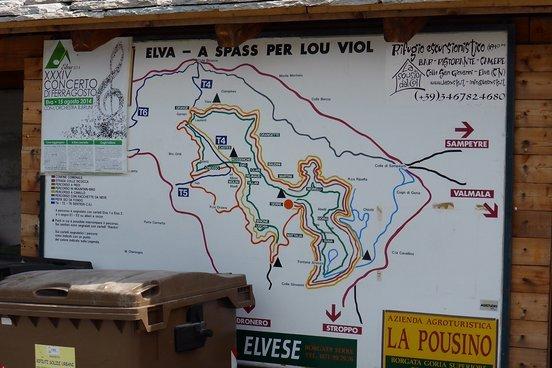 Das Elvra Tal ist bestens erschlossen. Technisch nicht sehr anspruchsvoll, ist es auch für den ungeübten Mountainbiker ein perfekter Einstieg.