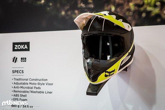 Der preiswerte Kali Zoka Fullface-Helm ...