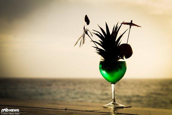 ... wird am Strand entspannt