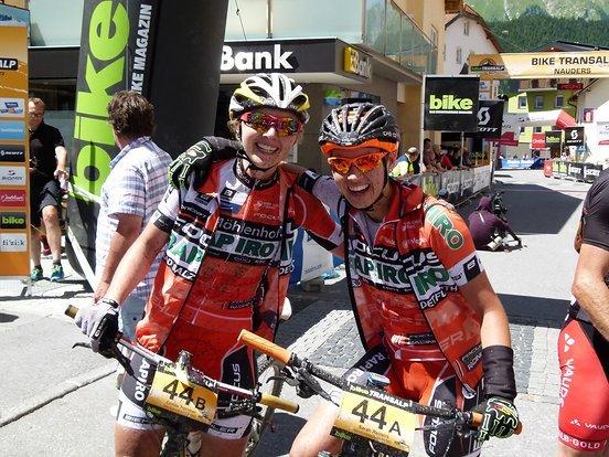 Erste Etappe, erster Erfolg mit dem dritten Platz für Nutrixxion Focus RAPIRO Racing