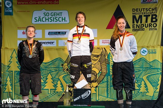 Podium DM Damen