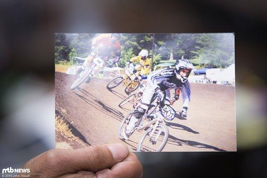 Malcolm fuhr einst BMX Rennen...