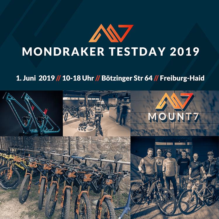 Mondraker Testday @Mount7 Freiburg