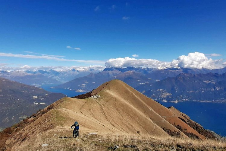 Il mio Ticino e Lombardia – in luftigen Höhen zwischen Luganer- und Comersee