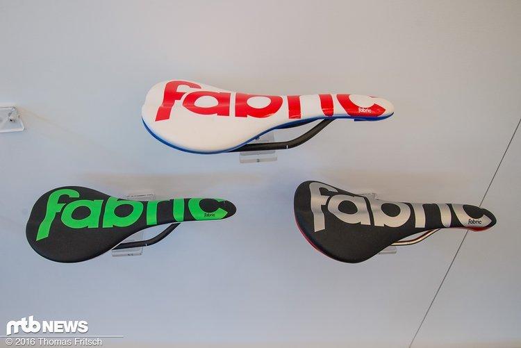 Farbenfrohe Sattel von Fabric.