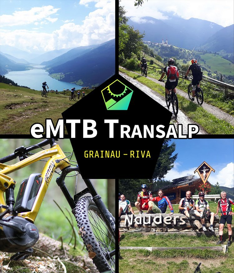 eMTB Transalp Classic von Grainau nach Riva