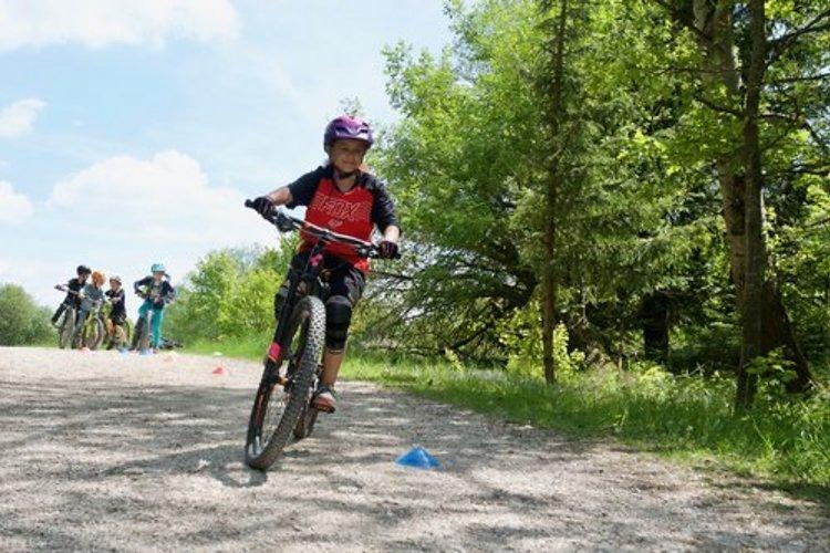 Mountainbike-Fahrtechnik Kinder Level 1