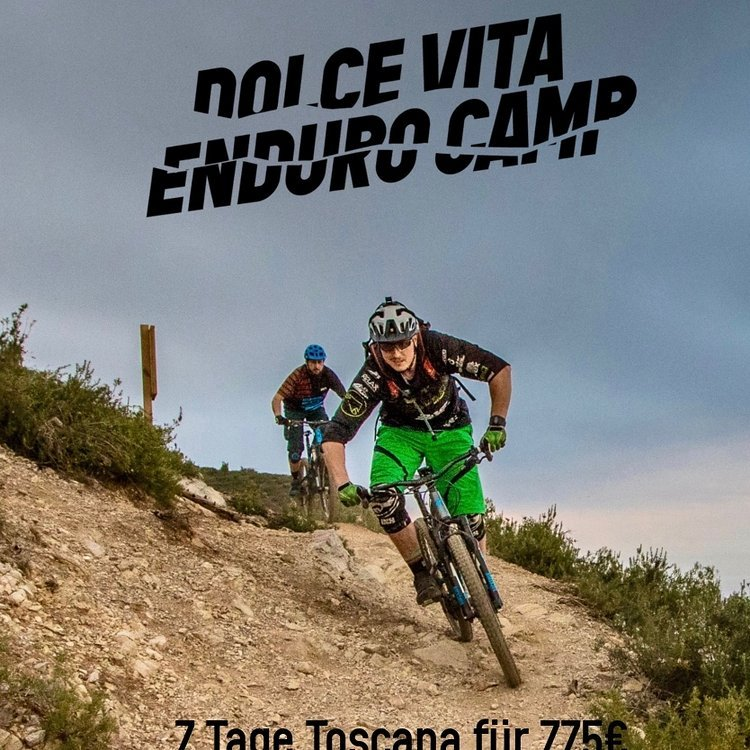Enduro Camp in der Toscana