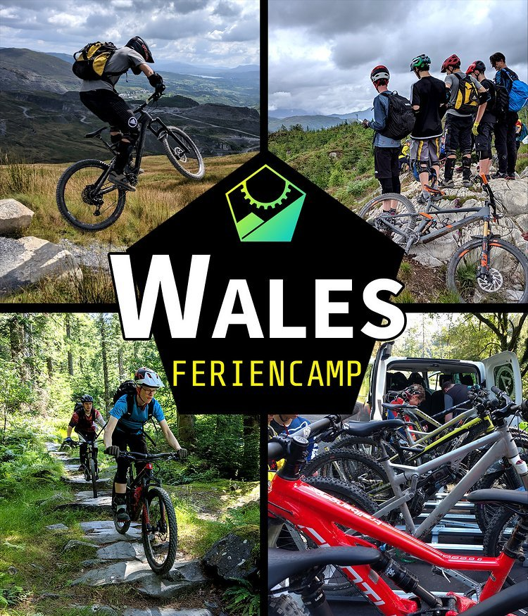 FerienCamp Wales – Biken für Jugendliche in England! (14-17 Jahre)