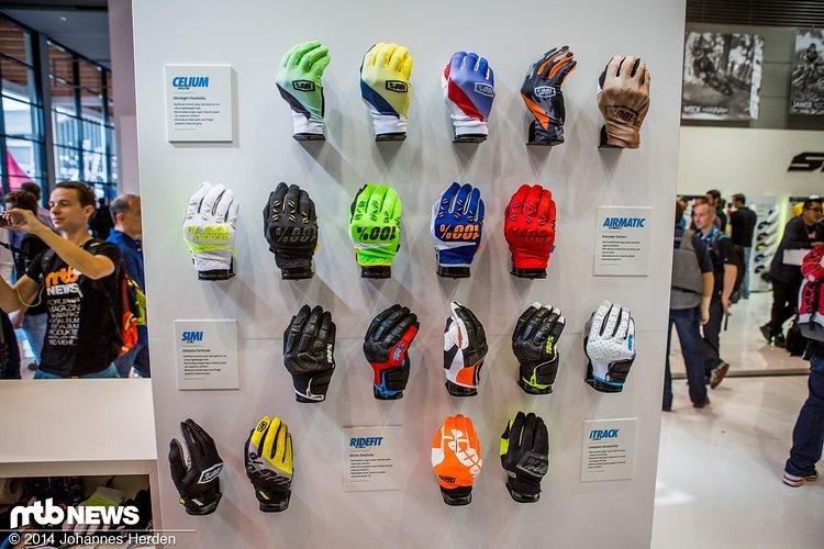 Die 100% Handschuhe für 2015 in der Übersicht