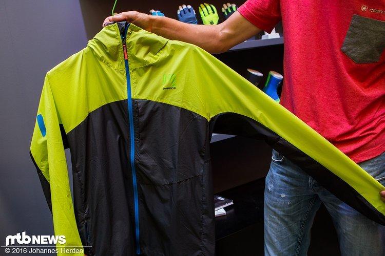 Die Cima Jacke ist wasserabweisend...