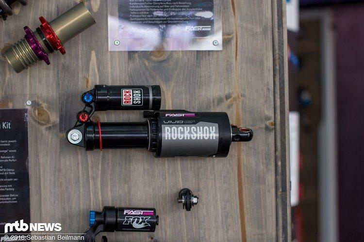 Fast Factory Piston Kit für RockShox und Fox Dämpfer