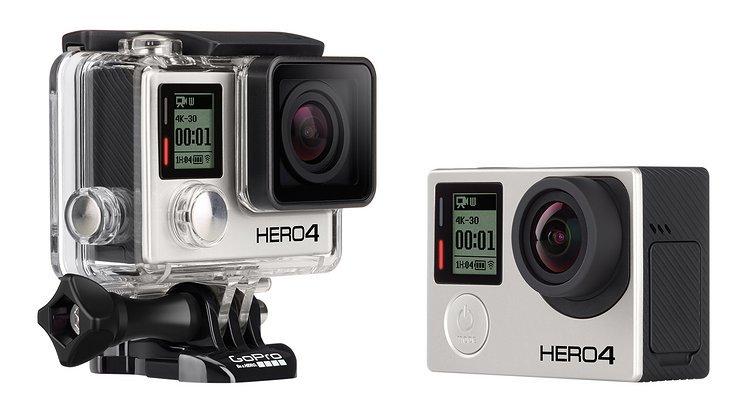 GoPro Hero4 Black - die aktuell fortschrittlichste Helmkamera von GoPro