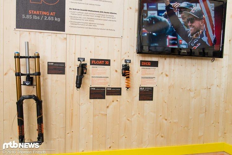 Der X2 kann für die kommende Saison mit einem Lockout-Hebel für den Uphill ausgestattet werden ...