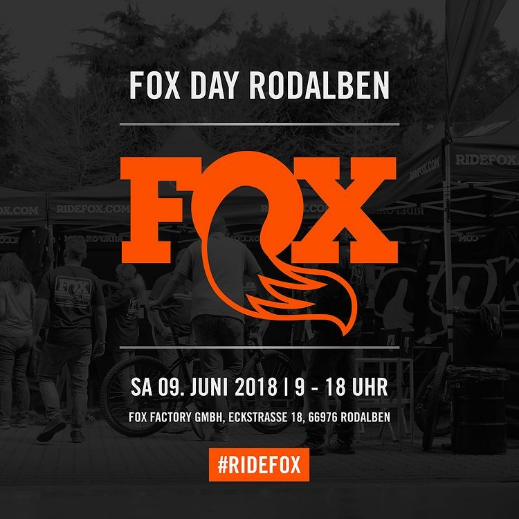 FOX DAY Rodalben – Sa 9. Juni 2018
