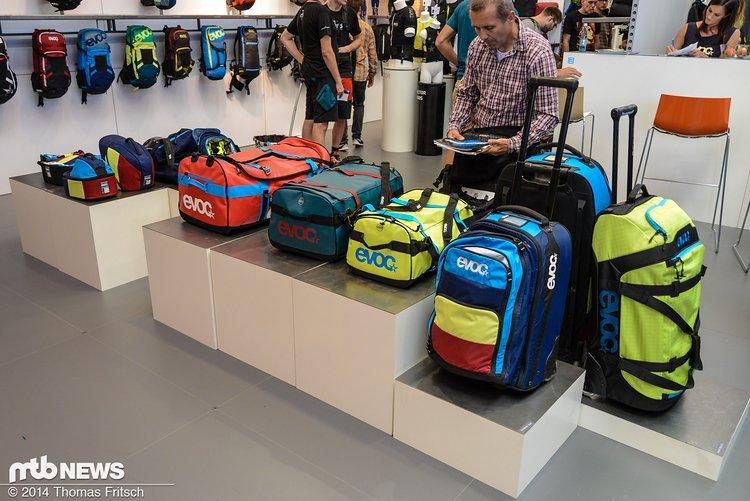 Stylische Reisetaschen von Evoc.
