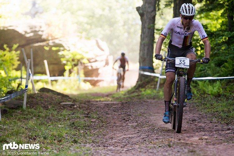 Christian Pfäffle musste das Lexware Mountainbike Team verlassen und fährt nun für Stevens.