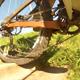 Shimano XTR Trail mit Dämpfung funktioniert gut.